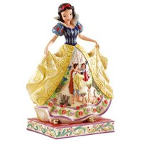 Disney Traditions by Jim Shore 4007992 Snow White Fairy Tale Endings Figurine 9-3/4-Inch