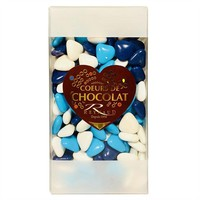 French Chocolate Dragee Hearts by Reynaud, 7.05 oz (200 g)