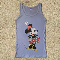 Classic Minnie Mouse for Tank Top Mens and Tank Top Girls