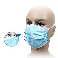 Disposable Medical Dust-proof Surgical Face Anti PM2.5 Anti Influenza Breathing Safety Masks Face Care