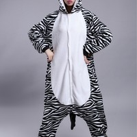 [wiki's store] Zodiac horse Onesuits one piece pajamas winter cosplay costumes birthday present