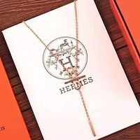 Hermes Fashion Women Pendant Necklace Accessories Jewelry