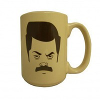 Parks and Recreation Ron Swanson Mug |      Parks and Recreation  | NBC
