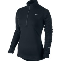 Nike Women's Element Half Zip Running Shirt - Plus Size
