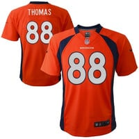 Preschool Denver Broncos Demaryius Thomas Nike Orange Game Jersey - http://www.shareasale.com/m-pr.cfm?merchantID=29080&userID=1042934&productID=545875716