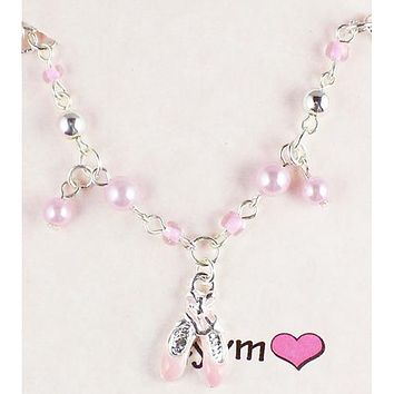 TYVM Ballerina Pearl Jewelry Necklace