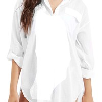 Topshop Oversize Beach Cover-Up | Nordstrom