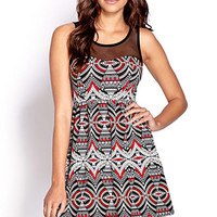 Dynamite Abstract Geo Dress