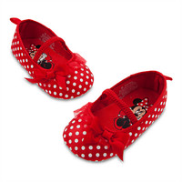 Minnie Mouse Costume Shoes for Baby - Red