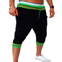 Men Summer Casual Bermuda Harem Shorts