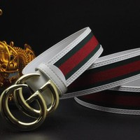 Gucci Belt Men Women Fashion Belts 504157
