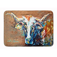 On the Loose Brown Cow Machine Washable Memory Foam Mat MW1165RUG