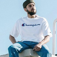 Champion Fashion Casual Print Shirt Top Tee