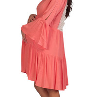 Pink Maternity Dresses-Ladylike Complexity