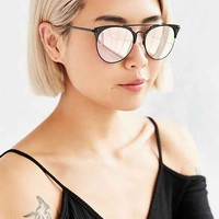 Quay X Chrisspy Gemini Rose Sunglasses