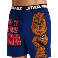 Star Wars Men's All For The Wookie Knit Boxer