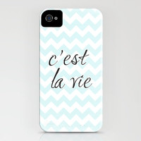 c'est la vie iPhone Case by Sylvia Cook Photography | Society6