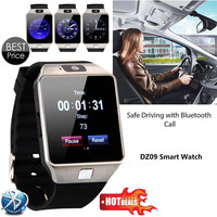 Bluetooth Smart Watch With Camera for iOS/Android Phones with Multi-language Support