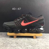 2018 Nike Air VaporMax cdg Airmax Black/Red Sport Shoe US8-13
