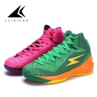 2018 New Colors Men's Basketball Shoes Men Sports Sneakers High Top Athletic Trainers Shoes Men Outdoor Shoes Big Size 45