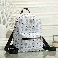 MCM Hot Sale Backpack Trendy Personality Rivet Fashion Ladies Backpack Bag