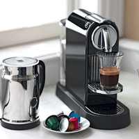 Nespresso Citiz Espresso Maker with Aeroccino Plus Automatic Milk Frother