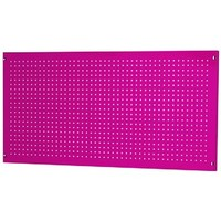 The Original Pink Box PB2448PB 24-Inch by 48-Inch 18G Steel Peg Board, Pink