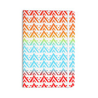 "Frederic Levy-Hadida ""Antilops Pattern"" Multicolor Chevron Everything Notebook"
