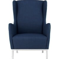 study wingback chair