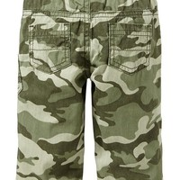 Pull-On Canvas Camo Pants for Baby