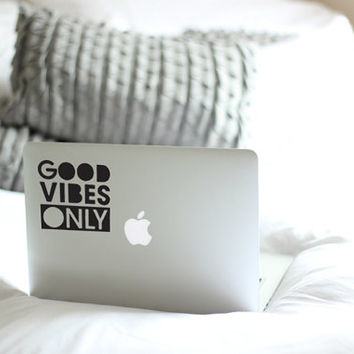 Good Vibes Only Sticker / Vinyl Decal / Car Decal / Snowboard Decal / VNL Company