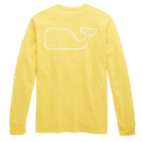 Vineyard Vines Vintage Graphic Whale Tee- Slicker