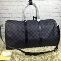 cc hcxx leather louis vuitton luggage 55 CM