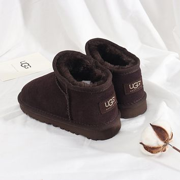 UGG Girls Boys Children Baby Toddler Kids Child Fashion Casual Boots-8