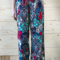 Paisley Statement Pants