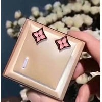 LV Women Fashion Gold Plated Stud Earring