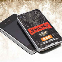 jagermeister raw customized iphone 4/4s/5/5s/5c, samsung galaxy s3/s4/s5 and ipod touch 4/5 cases