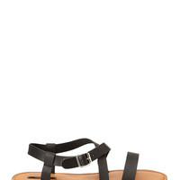 Crisscross Strappy Sandals