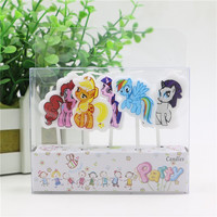 birthday candles for cake my little pony girls theme party Party Candle Happy Birthday Candle kids party decoration supplies