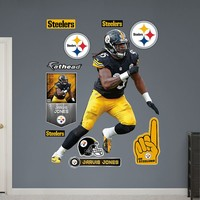 Pittsburgh Steelers Jarvis Jones Wall Decals by Fathead