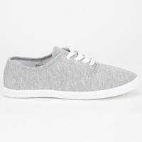 Twisted Womens Shoes Grey  In Sizes