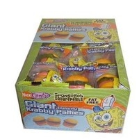 SpongeBob Squarepants Giant Gummy Krabby Patties 0.63 OZ (36 Count)