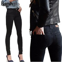 Jeans Stretch Skinny Pencil Pants