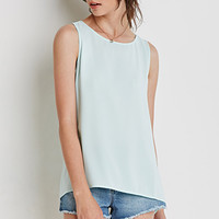 Cutout Vented Back Top