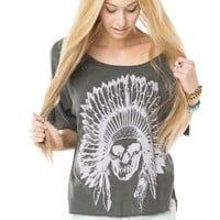 Brandy ♥ Melville |  Angie Indian Skull Top - Clothing