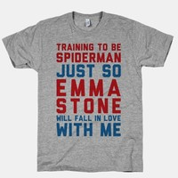 Training To Be Spiderman Just So Emma Stone Will Fall In Love With Me