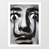 I am drugs ( Salvador Dali ) Art Print by arteatchoke
