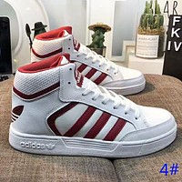 Adidas Fashion New High Top Women Men Sports Leisure Running Shoes