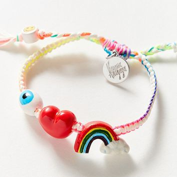 Venessa Arizaga I Love Rainbows Bracelet | Urban Outfitters