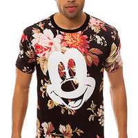The Mickey Face Cut and Sew Tee in Floral